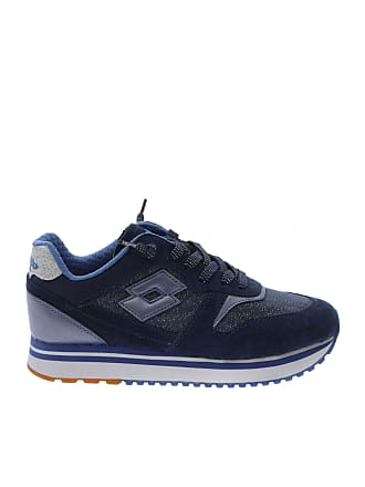 a139220873f09 Lotto Slice Denim sneakers in blue leather and fabric