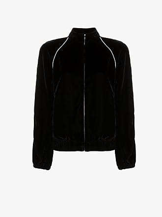 Philosophy di Lorenzo Serafini contrast piping velour track jacket