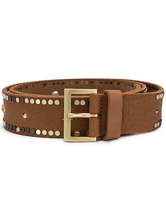 Zadig & Voltaire studded belt - Neutrals