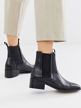 Whistles fernbrook leather chelsea boot-Black