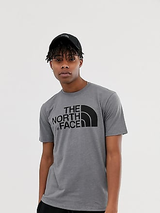 The North Face Easy t-shirt in gray Exclusive at ASOS - Gray