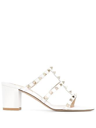 2621bfac73d3 Valentino Valentino Garavani rockstud sandals - White