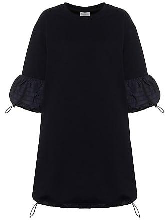 Moncler Toggle-trimmed cotton minidress