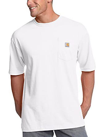 Carhartt Work in Progress Mens K87 Workwear Pocket Short Sleeve T-Shirt (Regular and Big & Tall Sizes), White, 3X-Large