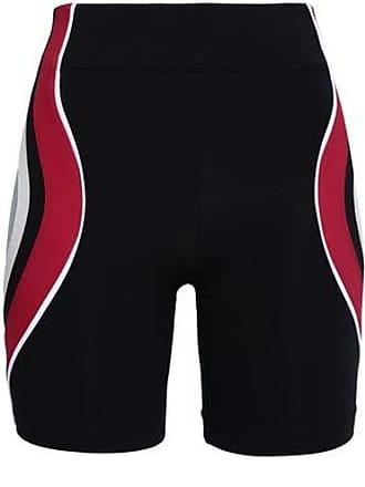 No Ka'Oi No Ka oi Woman Color-block Stretch Shorts Black Size 00