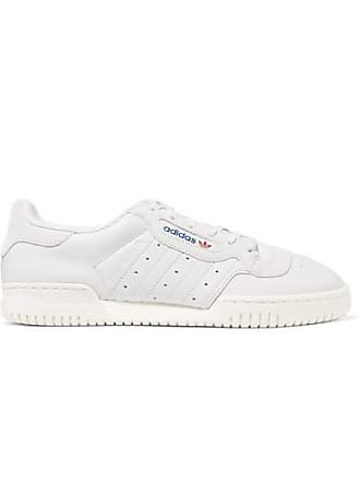 7c01ab3120376 adidas Originals Powerphase Leather And Suede Sneakers - Light gray