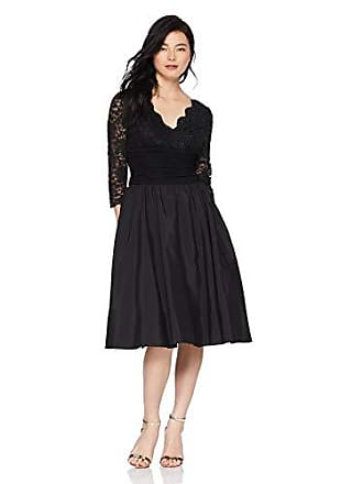 24f780ce3e Jessica Howard Womens Petite Surplus Bodice Ruched Waist Dress with Shirred  Skirt