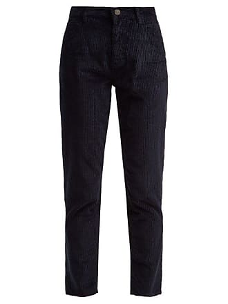 Mih Jeans Mimi Cord Cotton Blend Corduroy Jeans - Womens - Navy