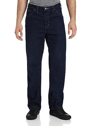 Dickies Mens Relaxed Fit Jean, Indigo Blue/Blue, 33x34
