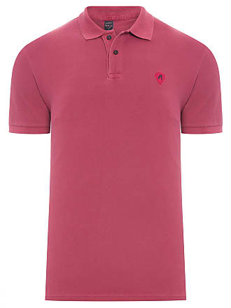 Replay POLO MASCULINA BASIC PATCH - VERMELHO