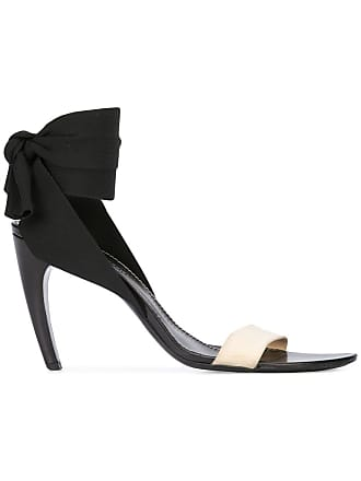 2b7162475e Proenza Schouler Ankle Tie Curved Heel Sandals - Black