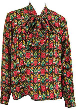 90066bc084ceb Saint Laurent 1970s Vintage Yves Saint Laurent Silk Blouse Russian  Collection 1976 Ysl