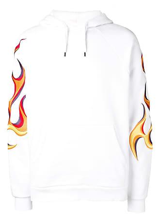 Études Studio Tacing and Flaming hoodie - White