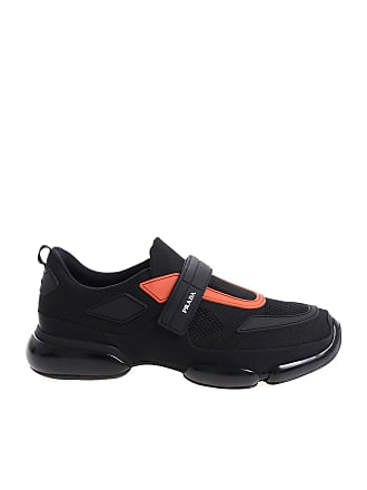 Prada Black and red sneakers with velcro 315a517b404b
