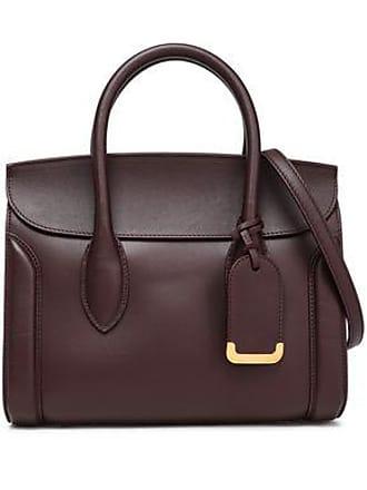 feb07b71b9b Alexander McQueen Alexander Mcqueen Woman Heroine 30 Leather Shoulder Bag  Burgundy Size