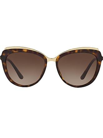 Dolce & Gabbana Eyewear cat eye sunglasses - Marrom