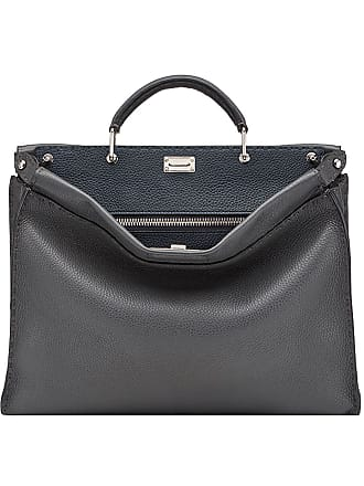 fdb55130c040 ... shopping fendi peekaboo fit tote bag grey f23b3 4c1ff