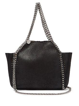 Stella McCartney Stella Mccartney - Falabella Mini Reversible Faux Leather Tote Bag - Womens - Black