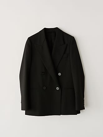 Acne Studios FN-WN-SUIT000033 Black Double breasted blazer