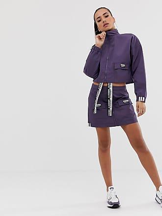 on sale 23382 fe65d adidas Originals RYV pack pocket skirt in purple - Purple