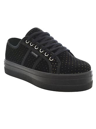 12436b951966 Victoria Low Shoe Womens Shoes with Platform 092101 Size 40 Black