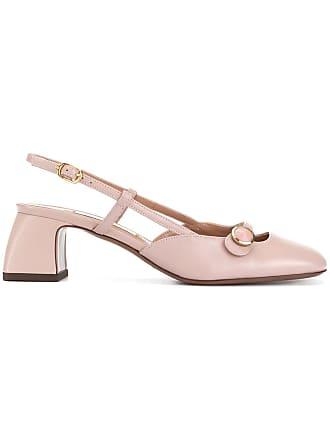 L'autre Chose metallic button pumps - Pink