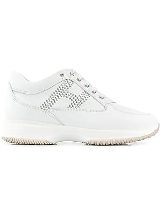 Hogan Interactive heart logo sneakers - White