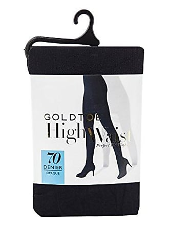 Gold Toe Womens Plus Size Semi Blackout Opaque Tights, 1 Pair, black, 1X