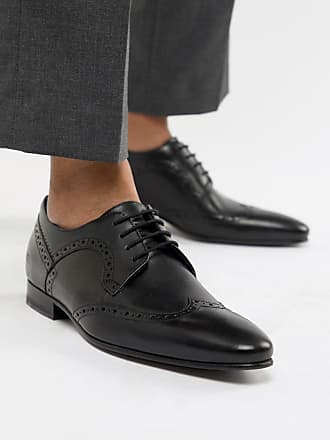 Ted Baker Ollivur brogue shoes in black leather - Black