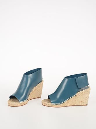 Celine 8cm Leather Sandals with Wedge size 36
