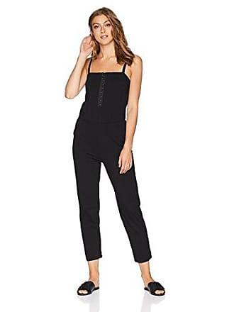 Only Hearts Womens Carrie Jumpsuit, Black, Large