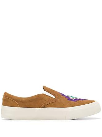 Ymc You Must Create patterned sneakers - Brown
