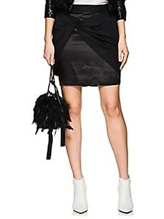 9a624def8287 Helmut Lang Womens Twill Sarong Miniskirt - Black Size L