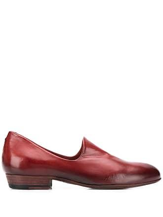 Pantanetti Mocassim com bico redondo - Vermelho