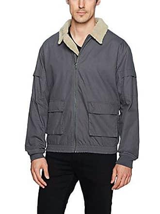 Zanerobe Mens Sherpa Jacket, Grey l