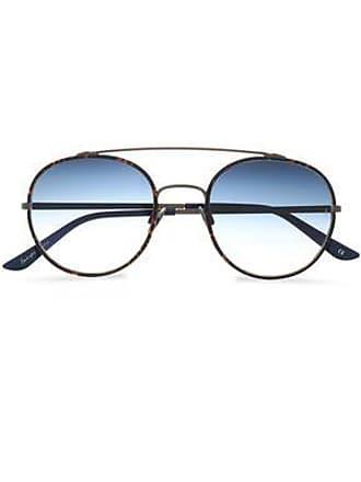 c6c440bdeb779 Sunday Somewhere Sunday Somewhere Woman Aviator-style Gold-tone Acetate  Sunglasses Azure Size