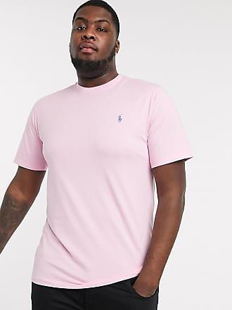 Polo Ralph Lauren Big & Tall - T-shirt con logo rosa