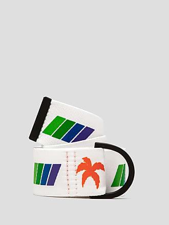 Msgm palm print belt