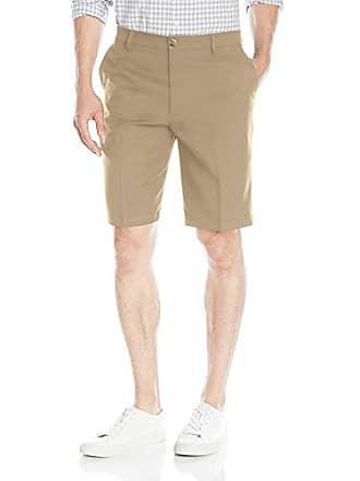 Dockers Mens Golf Short Classic Fit Flat Front, Dockers Khaki, 32W