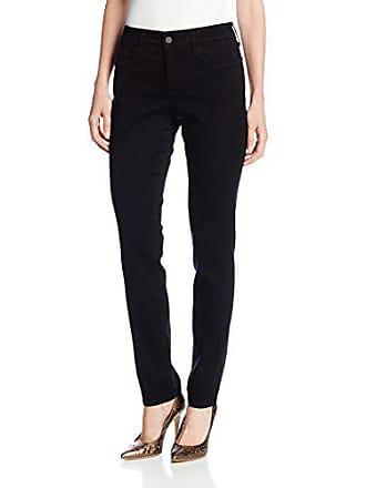 a0e7f41b3370a NYDJ Womens Petite Alina Legging Fit Skinny Jeans, Black, 2
