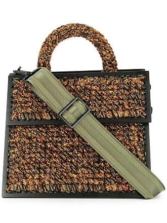 0711 large Copacabana tote bag - Brown