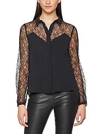 f340cfb1027 Morgan 171-Colia.F Chemise Femme Noir (Noir) 38 (Taille Fabricant