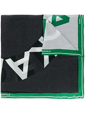 Karl Lagerfeld Echarpe K/Sporty com logo - Verde