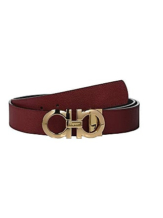 Salvatore Ferragamo Reversible/Adjustable Belt - 675542 (Red/Black) Mens Belts
