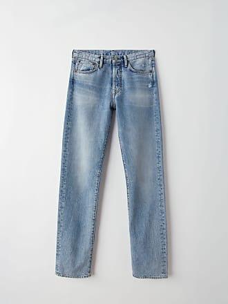Acne Studios Acne Studios 1996 Print Light blue Printed jeans
