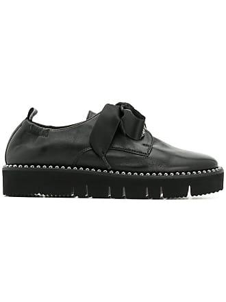Kennel & Schmenger Sapato com cadarço e tachas - Preto