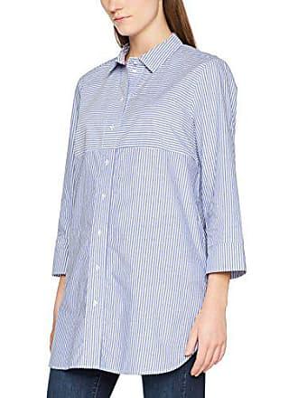bbd1b6be989422 OPUS Damen Bluse Flyps Blau (Blue Anemone 6044) 38