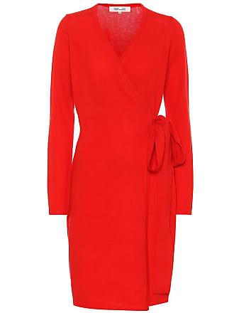 Diane Von Fürstenberg New Linda wool and cashmere dress