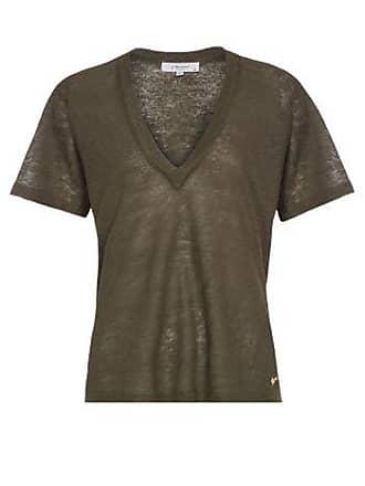 J. Chermann Camiseta Maxi Decote Basic J. Chermann - Verde