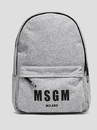 Msgm backpack with logo
